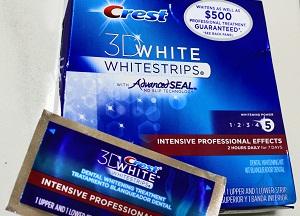 как пользоваться отбеливающими полосками crest 3d white
