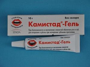 Гель для зубов Камистад
