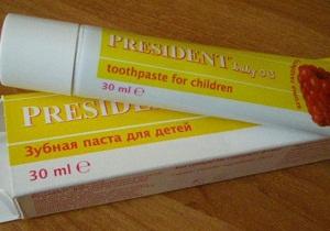 детская зубная паста без фтора список