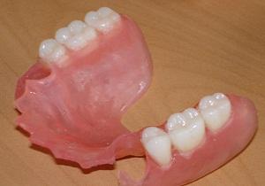 съемные зубные протезы фото