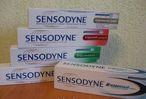 паста сенсодин для чувствительных зубов
