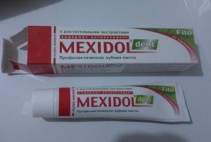 мексидол дент зубная паста цена