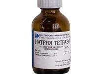 натрия тетраборат