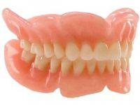 съёмные зубные протезы при полном отсутствии зубов