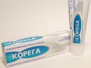 крем корега для зубных протезов цена отзывы